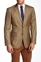 Di Milano Uomo Houndstooth Sport Coat Brown
