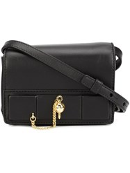 Anthony Vaccarello Mini Crossbody Bag Black