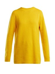 Raey Loose Fit Cashmere Sweater Yellow