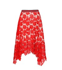 Tommy Hilfiger Lace Skirt Red
