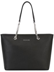 Michael Michael Kors 'Jet Set Travel' Chain Tote Black