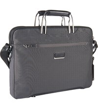 Tumi Hamilton Slim Briefcase Pewter