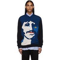 Stella Mccartney Blue And Navy The Beatles Edition Ringo Starr Sweater