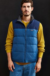 Patagonia Reversible Bivy Down Vest Blue