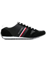 Tommy Hilfiger Tri Stripe Runner Sneakers Black