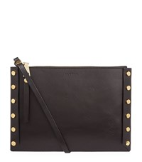 Sandro Abby Studded Pouch Female Black