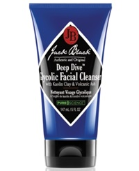 Jack Black Deep Dive Glycolic Facial Cleanser And Purifying Mask No Color