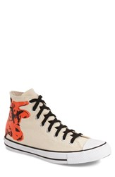 Men's Converse Chuck Taylor All Star Andy Warhol Collection High Top Sneaker White Black Poppy