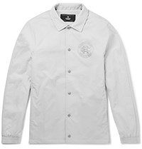 Reigning Champ Coaches Quilted Shell Jacket Gray