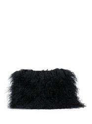 Brother Vellies Shearling Fur Clutch 60