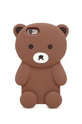Forever 21 Teddy Bear Case For Iphone 6 6S Brown