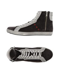 Liviana Conti Footwear High Tops And Trainers Women Steel Grey