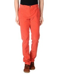 Franklin And Marshall Casual Pants Orange