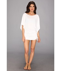 Luli Fama Cosita Buena South Beach Dress Cover Up White Women's Swimwear