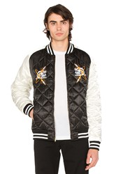 Billionaire Boys Club Vegas Souvenir Jacket Black And White