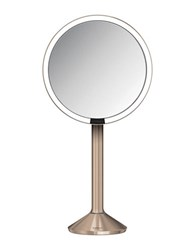 Simplehuman Sensor Mirror Proseries Rosetone Stainless Steel Mirror 8 In. No Color