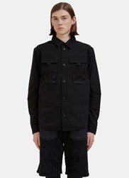 7L Mid Layer Pocket Shirt Black