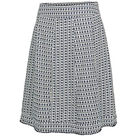 Fat Face Claire Mini Diamond Skirt Indigo