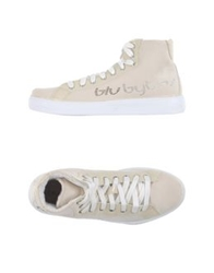 Blu Byblos High Tops And Trainers Beige