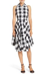 Julia Jordan Women's Woven Gingham Shirtdress