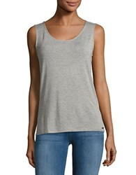 Calvin Klein Knit Tank Top Heather Granite
