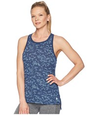 Asics Legends Racerback Tank Top Dark Blue Sleeveless
