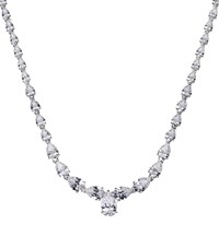 Carat Fancy Pear Cut Necklace Female