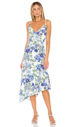 Yumi Kim Debutante Dress In Blue. Oahu White