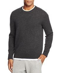 Bloomingdale's The Men's Store At Cashmere Crewneck Sweater New Dark Charcoal