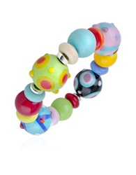 Antica Murrina Veneziana Ipanema Multicolor Murano Glass Bead Bracelet