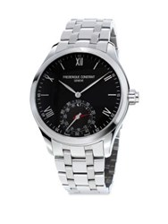Frederique Constant Smart Stainless Steel Bracelet Watch Black