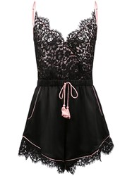 Morgan Lane Emma Romper Black
