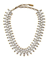Auden Holloway Pearly Bead Necklace Brass