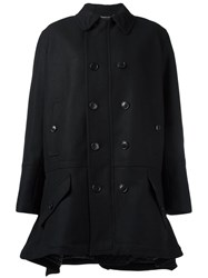 Diesel Black Gold 'Kapanny' Coat Black