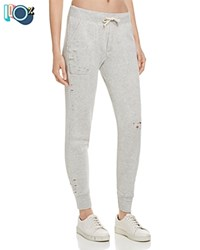 Alternative Apparel Distressed Jogger Sweatpants 100 Bloomingdale's Exclusive Eco Oatmeal