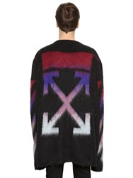 Off White Arrows Mohair And Cashmere Sweater