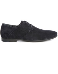 Paul And Joe Panama Navy Suede Derbies
