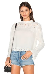 Astr Winifred Blouse Ivory