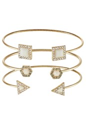Only Onlselina 3 Pack Bracelet Goldcoloured