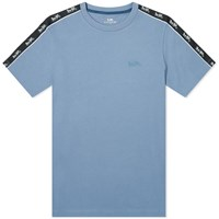 Coach Horse And Carriage Taped Sleeve Tee Blue