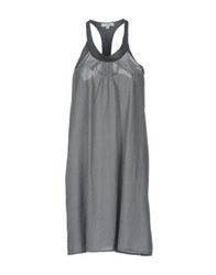 Crossley Short Dresses Light Grey