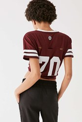 Without Walls The Perfect Tease Tee Maroon