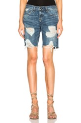 Rag And Bone Rag And Bone Jean Walking Shorts In Blue