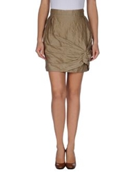 Aquilano Rimondi Knee Length Skirts Sand