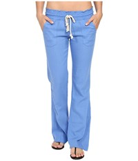 Roxy Oceanside Pants Morning Sky Women's Casual Pants Blue