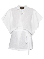 Vivienne Westwood Bee Broderie Anglaise Cotton Blouse