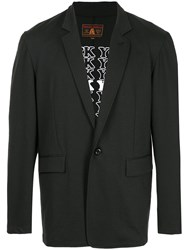 Hysteric Glamour Classic Fitted Blazer Black
