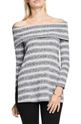 Vince Camuto Women's Two By Ribbed Off The Shoulder Sweater