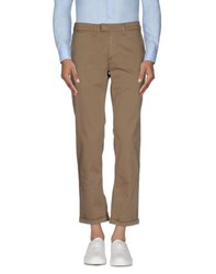 Dirk Bikkembergs Trousers Casual Trousers Men Khaki