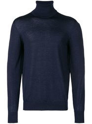 Mauro Grifoni Perfectly Fitted Sweater Blue